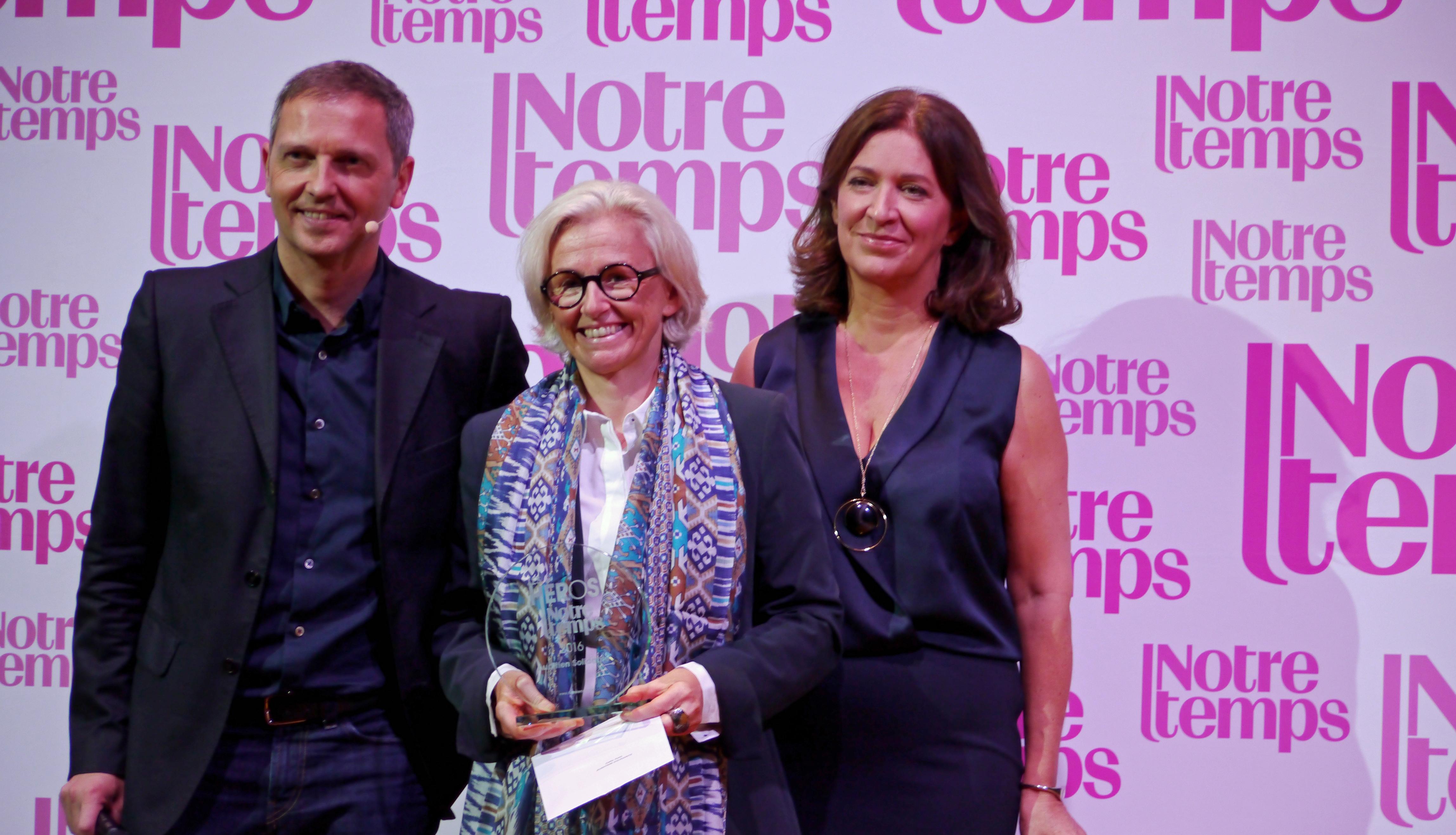 """AuditionSolidarité récompensée par le Prix """"Les Héros de Notre Temps"""""""