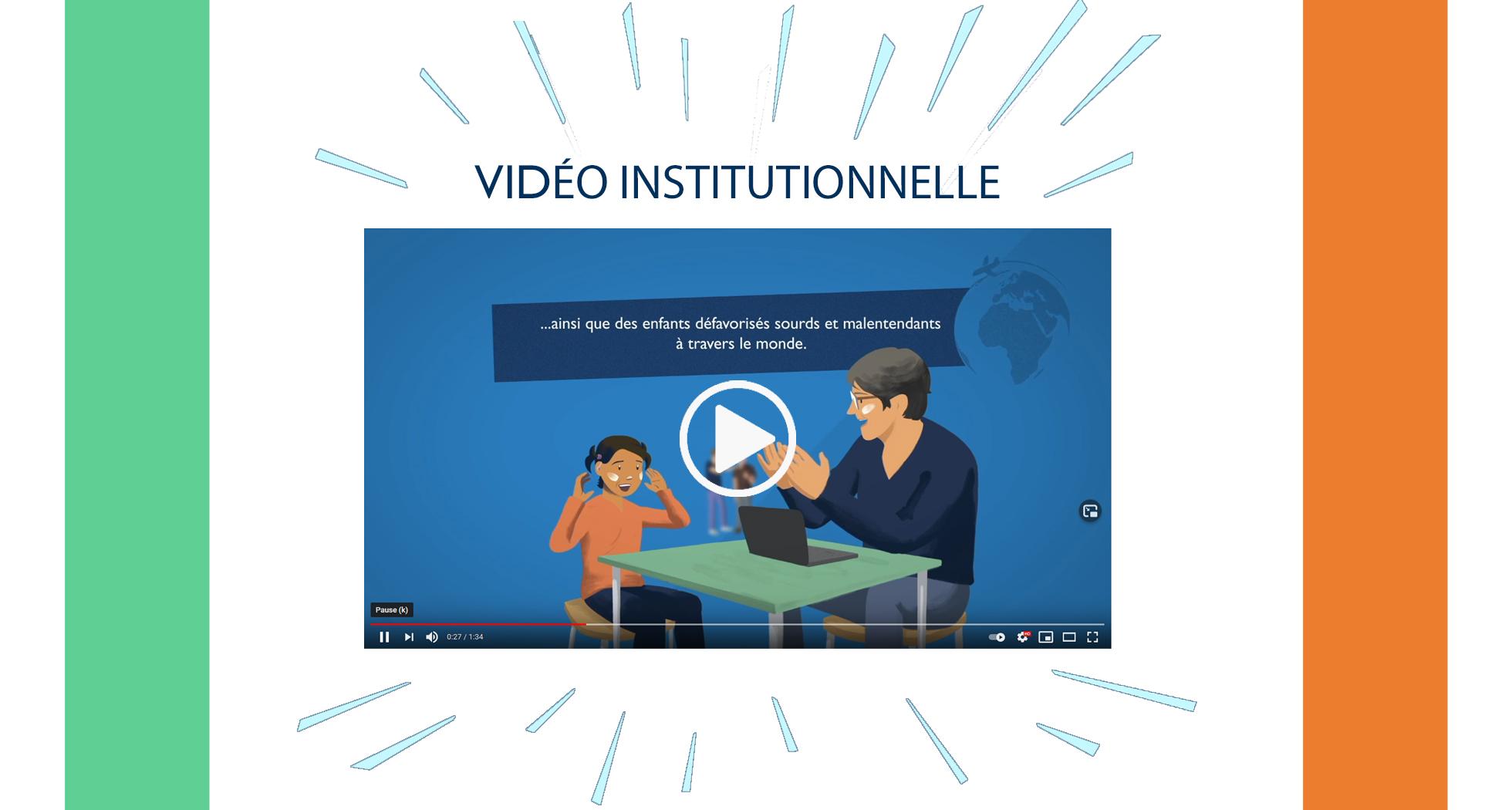 Nouveau : vidéo institutionnelle d'AuditionSolidarité