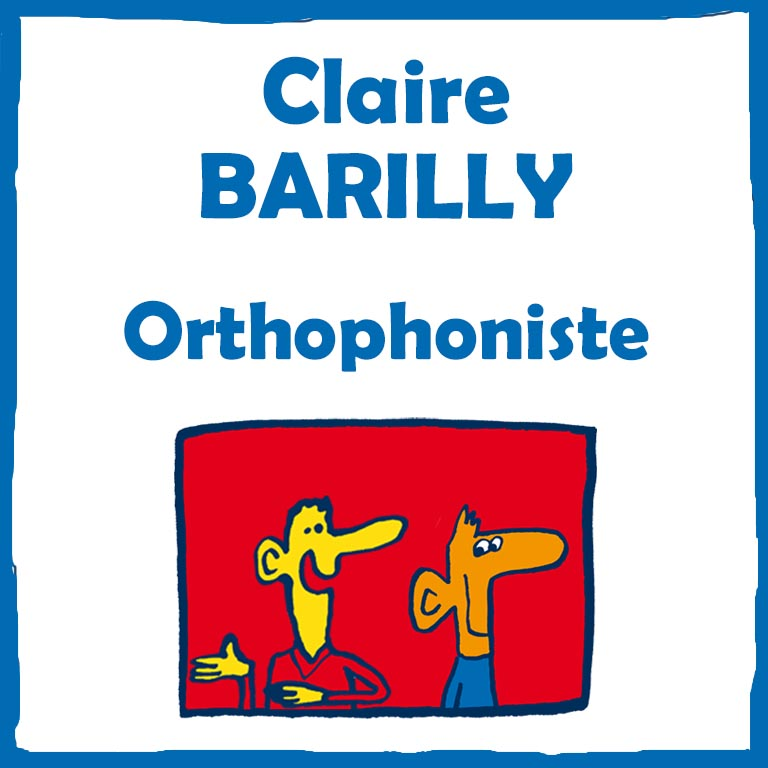 Claire Barilly – orthophoniste