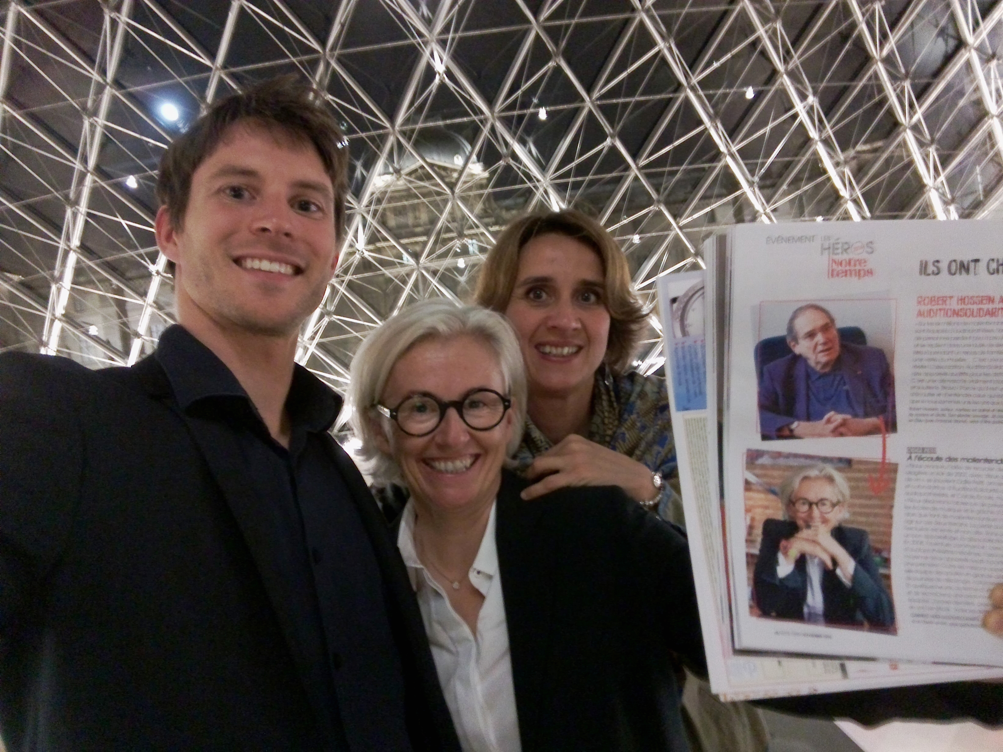 """Remise du Prix """"Les Héros de Notre Temps"""""""