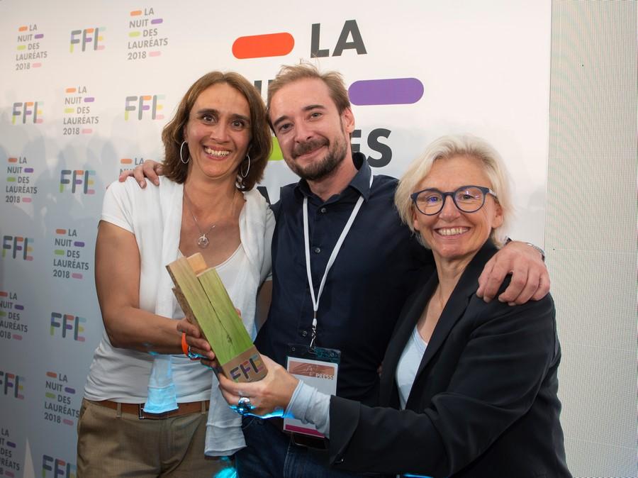 Carole Ercole, Guillaume Bureau et Odile Petit
