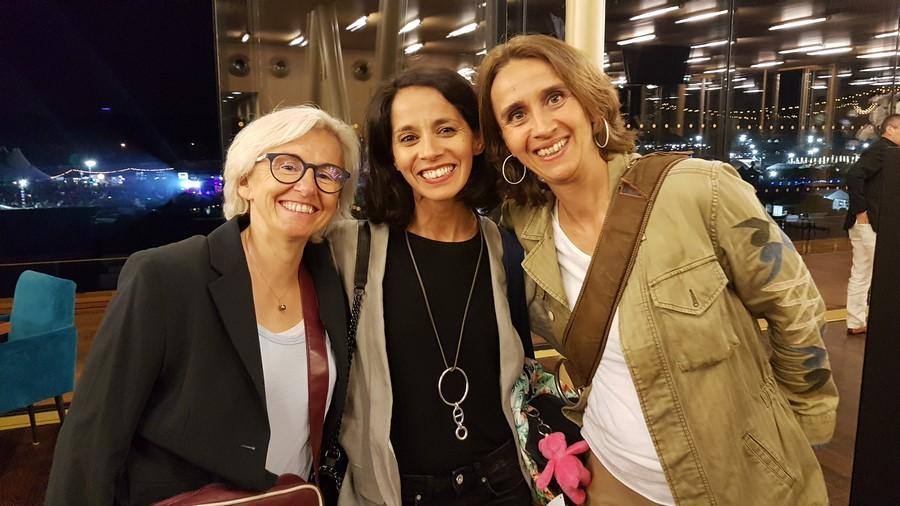 Odile Petit, Sophia Aram et Carole Ercole