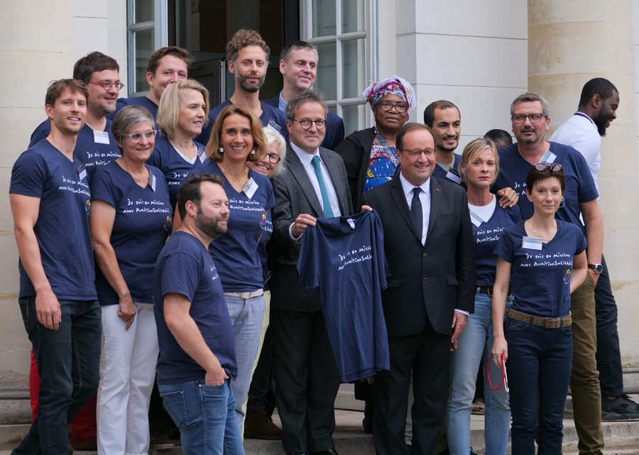 Mission Humanitaire à Paris - Octobre 2019
